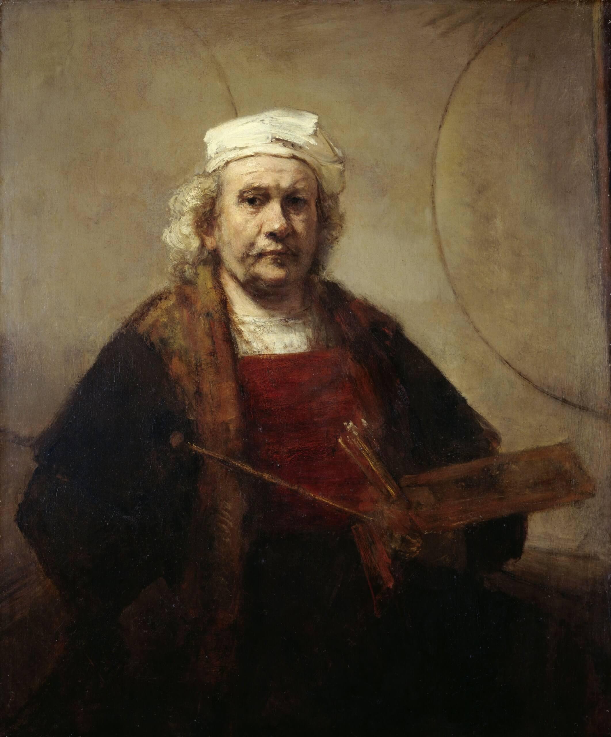 autoportrait de rembrandt
